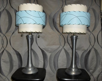 Custom matching table lamps MCM