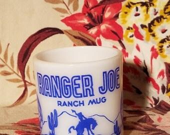 Hazel atlas Ranger Joe mug