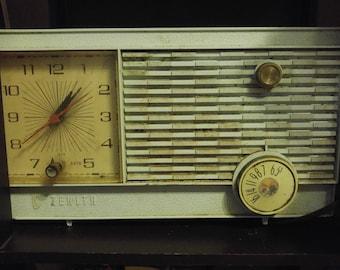 1955 Powder Blue Zenith Radio