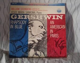 Gershwin Rhapsody in Blue/ An American in Paris on Vinyl