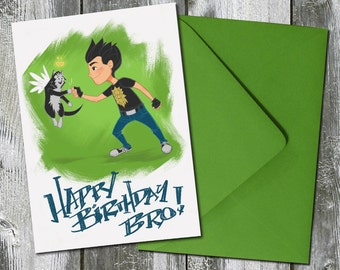 Happy Birthday Bro! – Birthday Card