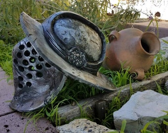Gladiator Helmet for LARP, Roleplay, Display