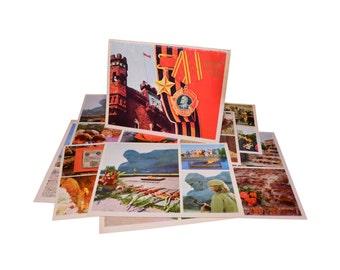 Lot 1, Quantity 15 Vintage Postcards Set Collection Brest Hero-Fortress 1977