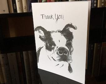 Thank You Card (dog)