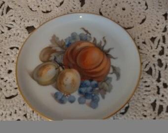 Furstenberg decorative pin dish or coaster
