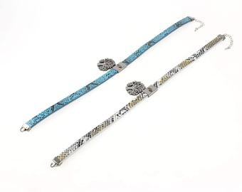 Choker Necklace, Bohemian Choker Necklace, Life necklace, Link Chain Choker, Boho Necklace, Fashion Jewelry