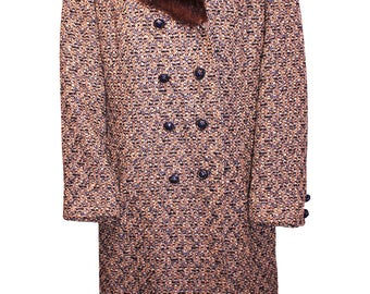 1980's Tweed Coat