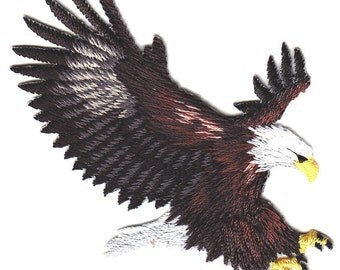 Embroidered Applique Patch Eagle