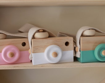 Kids Decor / Wooden Camera