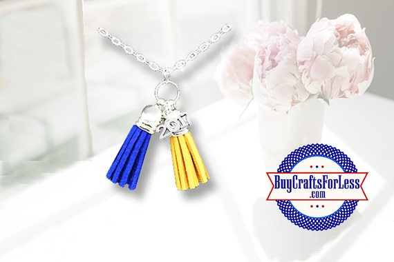 GRADUATION Tassel Necklace -8 Colors- Choose Colors  / Charm  **FREE Shipping & Discounts*