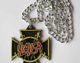 SLAYER METAL NECKLACE