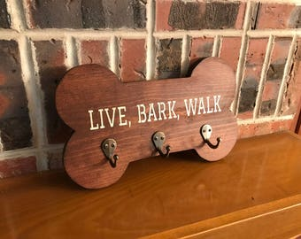 Dog Leash Hook, Dog Leash Holder, Key Hook, Dog Leash Hanger, Dog Gifts, Gifts for Pets