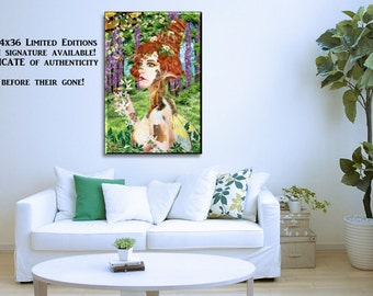Beewildered - Canvas - Print - Poster - Cards - Collectable - Limited Edition