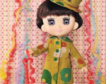 Odeco Nikki Doll E Pattern Japanese PDF Coat Hat