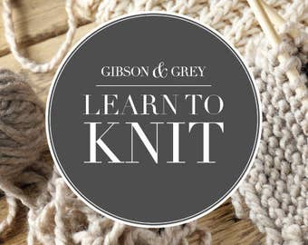 Learn to Knit Book (Digital Download)