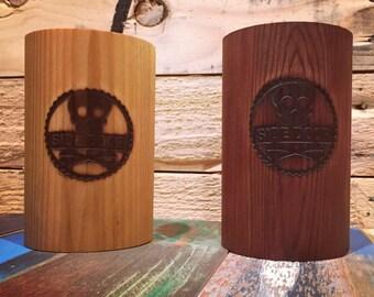 The Woozy. Eco friendly all cedar wood can insulater