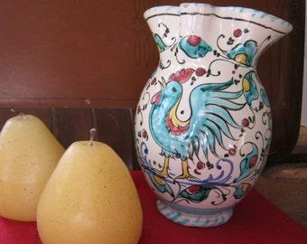 Charming Italian Pitcher- Fanciullacci pottery?