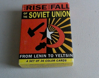 20% off The Rise and Fall of Soviet Union Card Cards / Rise and Fall of Soviet Union 36-Cards Trading Cards