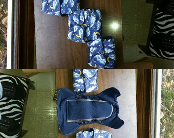 Fitted Cloth Diapers, Sizes newborn, small, and medium