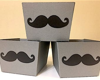 MustacheThemed Small Candy Cups, Mustache Baby Shower, Mustache theme, Mustache Birthday, Mustache Decorations
