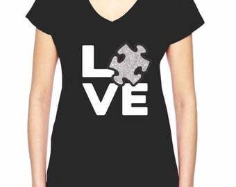 LOVE AUTISM T-SHIRT