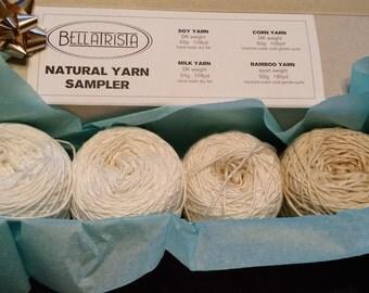 Natural Yarn Sampler