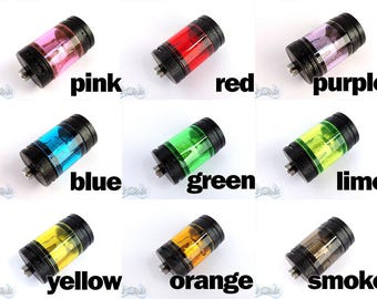 Vape Wrap Skin Translucent Decal for Glass Tank Ecig Uwell Crown 1, 2 or 3