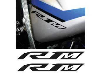 2 Kit YAMAHA R1M 2015 16 Mm 140xmm Written Decals Stickers Aufkleber Pegatinas MotoGP SBK V ROSSI 46 RedBull Ferrari
