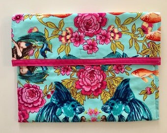 Device cover in in Lost Atlantis fabric by Tokyo Milk