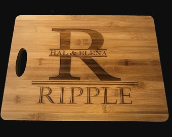 Personalized Custom Laser Etched Cutting Board