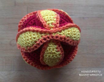 MADE TO ORDER Custom Made Crochet Amish Puzzle Ball