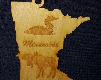 Minnesota state ornament