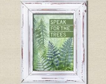 Wall Art, Speak for the trees, Printables, Printable Art, The Lorax, I speak for the trees