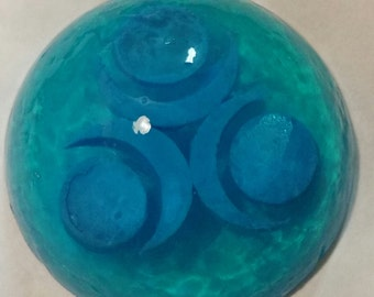 Zelda Inspired Rounded Water Pearl Soap