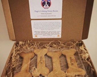 Natural Tasty Doggy Gift Box, Available in 5 flavours - FREE Personalisation