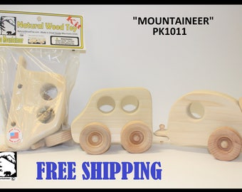 Natural Wood Toy Mountaineer Kit 1011
