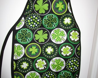 Child's St. Patrick's Day Apron