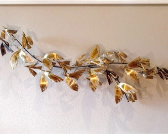 Curtis Jere, Signed C. Jere '67, Birds in Flight Wall Hanging