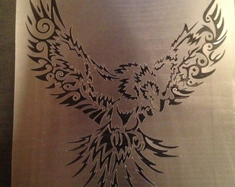 Eagle#4 Stencil (5mil Buy 2 Get 1 Free! Mix & Match)