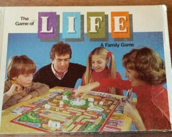 Life game by Milton Bradley 1977