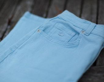 Light Blue Women's high rise vintage jeans