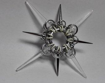 Silver/White Star