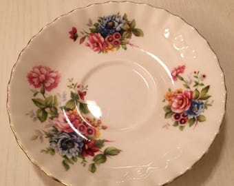 Royal Albert Summertime Series - Saucer Only - Bone China - Made In England