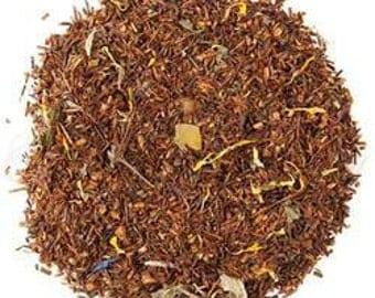 Bora Bora Mango Rooibos Tea, decaffeinated