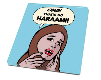 Sticker - 'SO HARAAM'