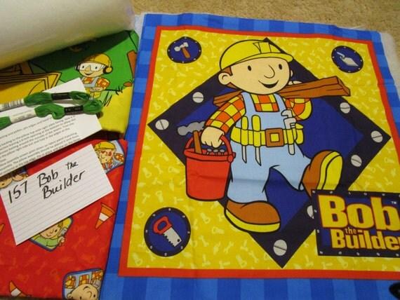 Bob The Builder - Pillow Quilt Kit