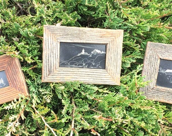 Set of Framed Etchings