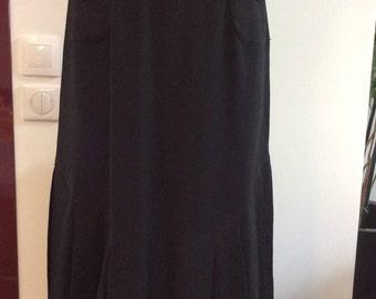 Jupe vintage noire
