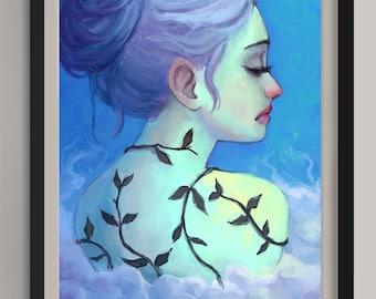"Growth - Original Art Print (A3/11.7""x16.5"")"