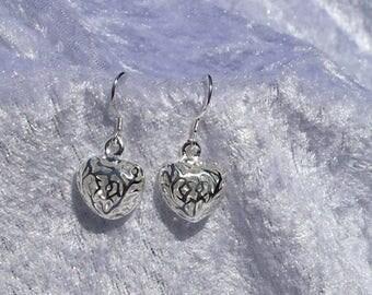 Pretty sweetheart earrings
